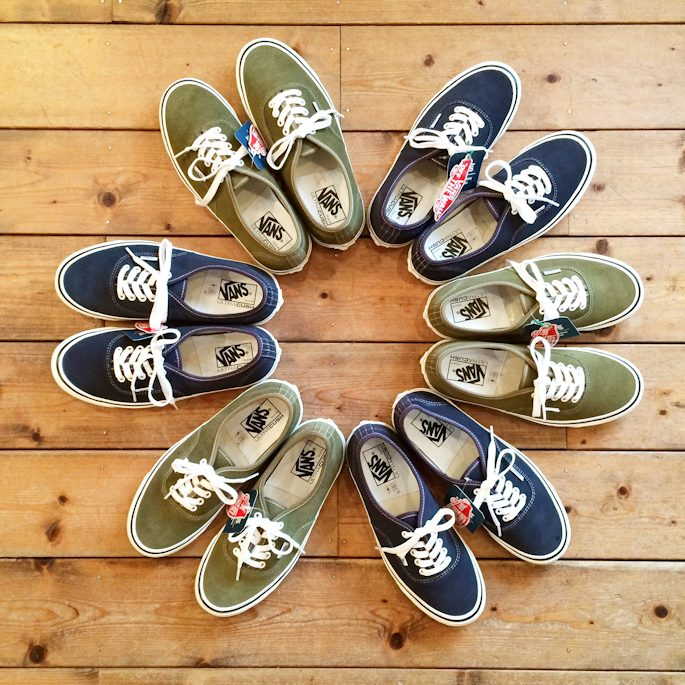VANS AUTHENTIC 44DX ANAHEIM FACTORY SUEDE 取扱店 FARMHOUSE京都