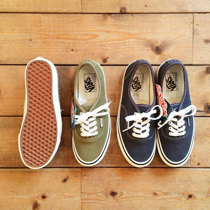 VANS AUTHENTIC 44DX ANAHEIM FACTORY SUEDE FARMHOUSE京都