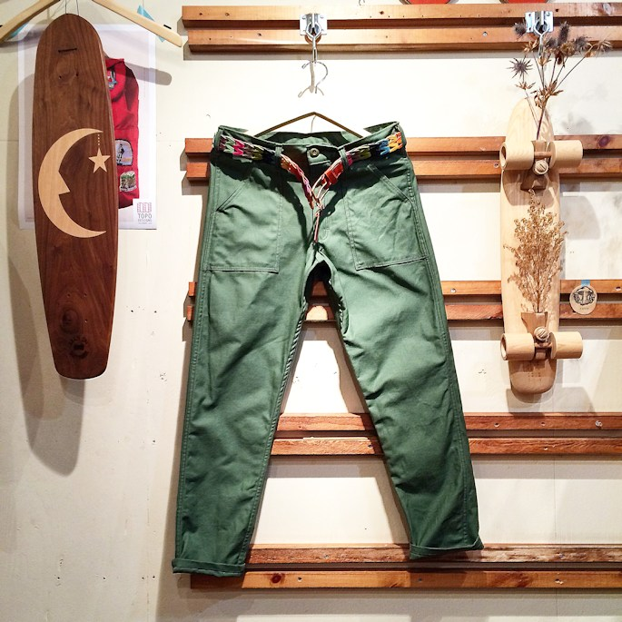EARL'S APPAREL FATIGUE PANTS GUNG HO MADE IN USA FARMHOUSE京都