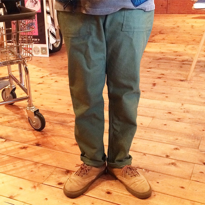 FARMHOUSE別注 EARL'S APPAREL SLIM FIT FATIGUE PANTS MADE IN USA FARMHOUSE京都