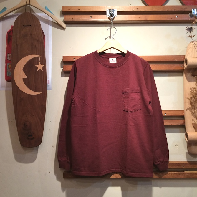 GOOD WEAR L/S POCKET TEE MADE IN USA FARMHOUSE京都