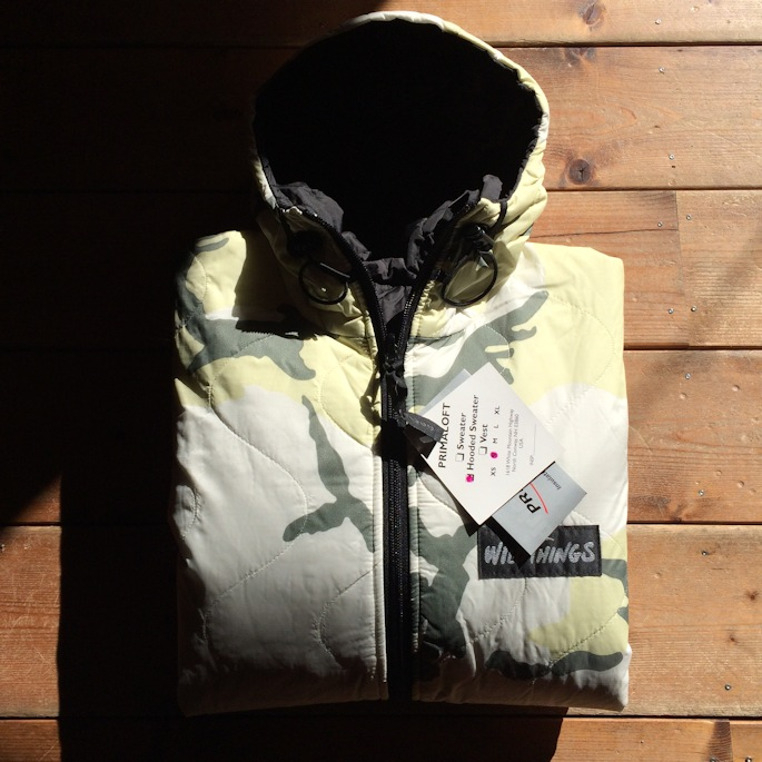 WILDTHINGS REVERSIBLE PRIMALOFT MADE IN USA FARMHOUSE京都