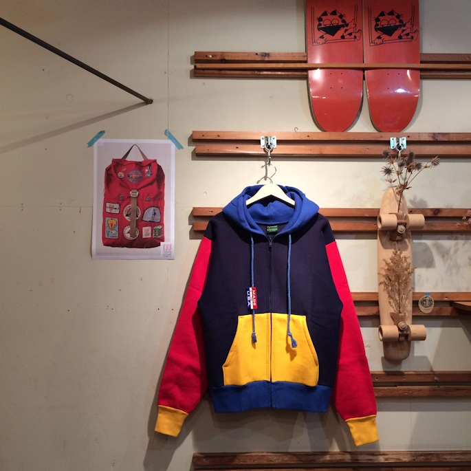 DEAD STOCK CAMBER CRAZY ZIP HOODIE MADE IN USA FARMHOUSE京都