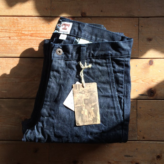 TELLASON DENIM TROUSERS CONEMILLS WHITE OAK MADE IN USA FARMHOUSE京都