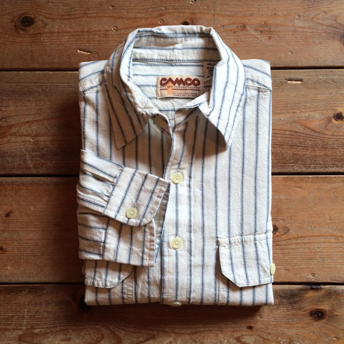 CAMCO CHAMBRAY STRIPE SHIRTS FARMHOUSE京都
