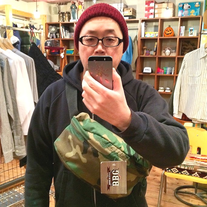 DEAD STOCK BBC FANNY PACK MADE IN USA FARMHOUSE京都