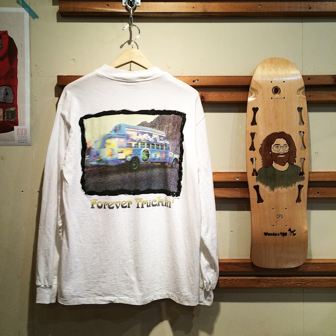 DEAD STOCK GRATEFUL DEAD TEE MADE IN USA FARMHOUSE京都