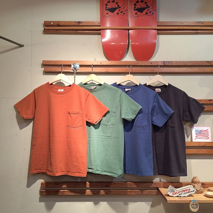 GOOD WEAR S/S POCKET TEE MADE IN USA FARMHOUSE京都