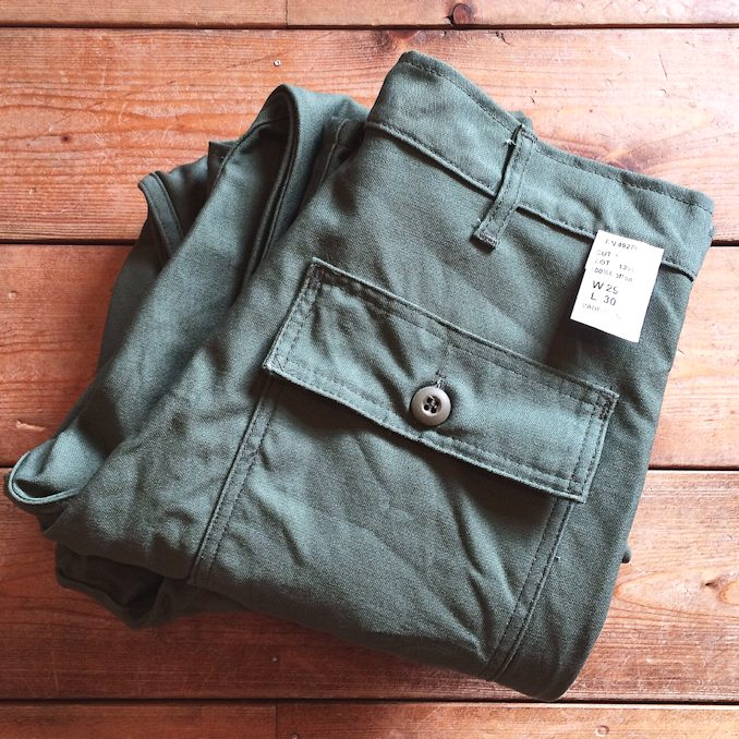 FARMHOUSE別注 EARLS APPAREL SLIM FIT FATIGUE PANTS MADE IN USA