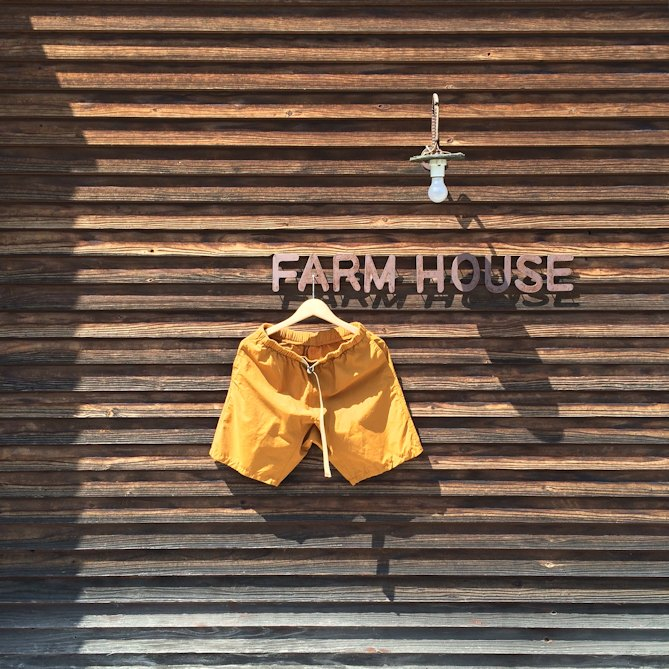 JAMMING CORDURA WEATHER CLIMBING SHORTS 通販 FARMHOUSE京都