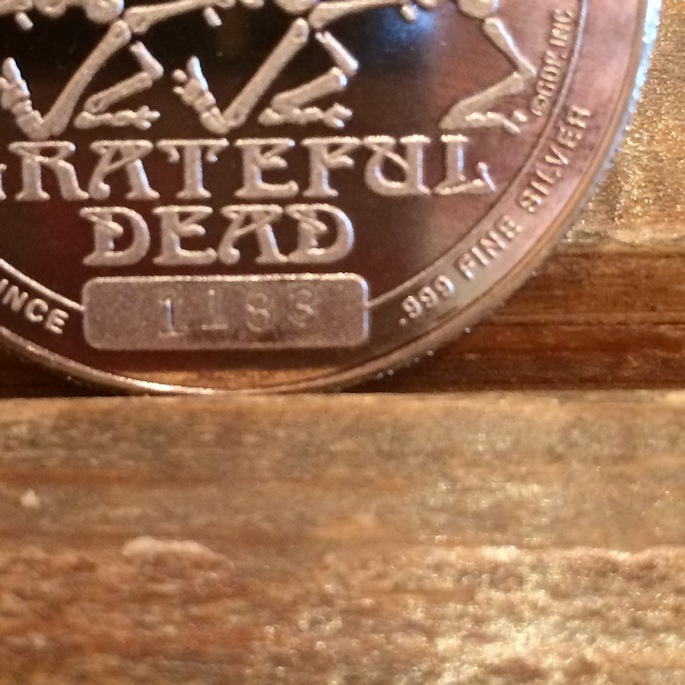 GRATEFUL DEAD SILVER COIN FARMHOUSE京都