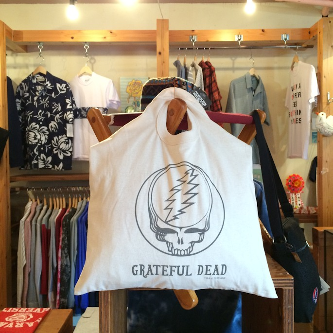 GRATEFUL DEAD SOS ORGANIC COTTON BAG FARMHOUSE京都