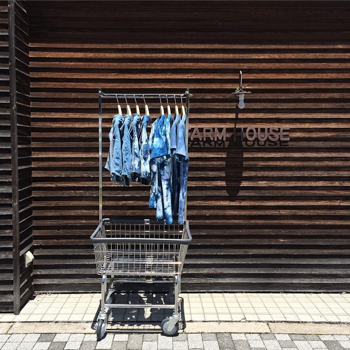 TURN ME ON DENIM TRUNKS FARMHOUSE京都