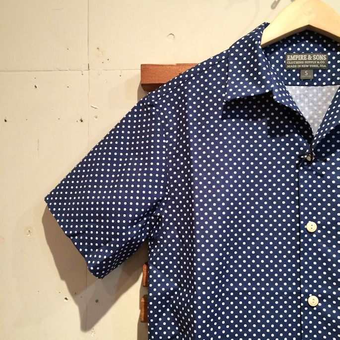 EMPIRE&SONS CAMP SHIRTS MADE IN USA FARMHOUSE京都