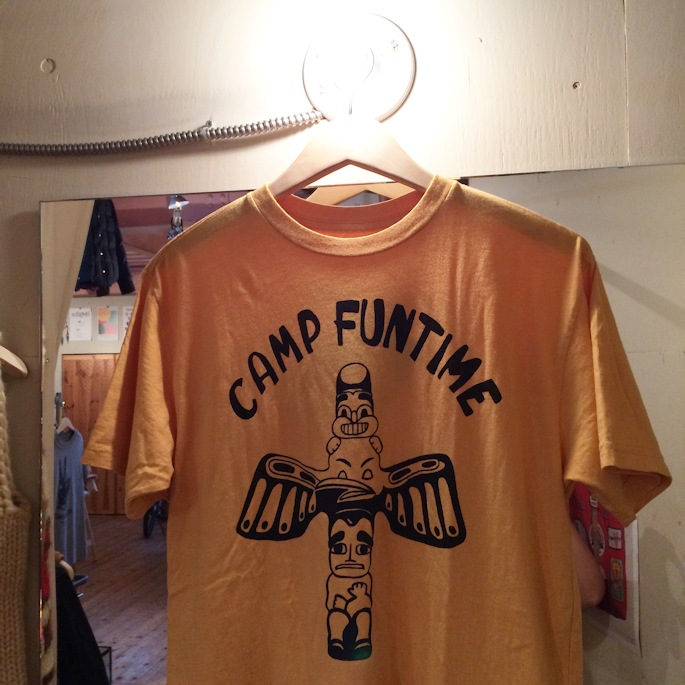 WORNFREE DEBBIE HARRY CAMP FUNTIME TEE MADE IN USA FARMHOUSE京都
