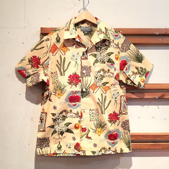 EMPIRE&SONS CAMP SHIRTS FRIDA MADE IN USA FARMHOUSE京都