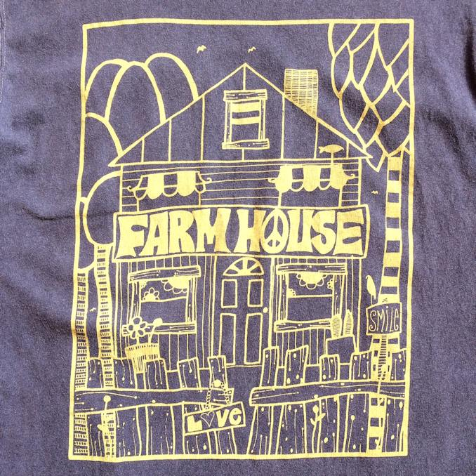 ANDY DAVIS FARMHOUSE ORIGINAL GOOD ON POCKET TEE FARHOUSE京都