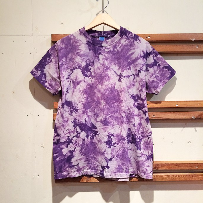 DEAD STOCK GOOD ON TIE DYE TEE MADE IN USA FARMHOUSE京都
