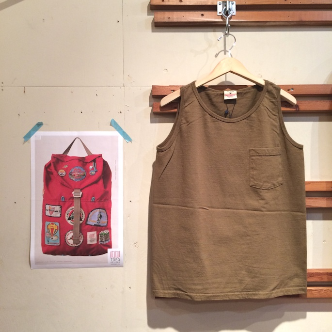 GOOD WEAR POCKET TANK TOP MADE IN USA FARMHOUSE京都