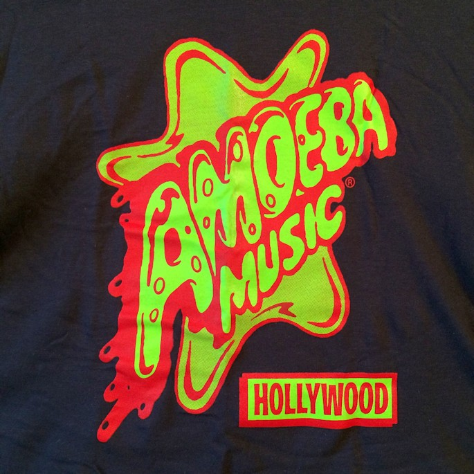 AMOEBA MUSIC SOUVENIER TEE FARMHOUSE京都