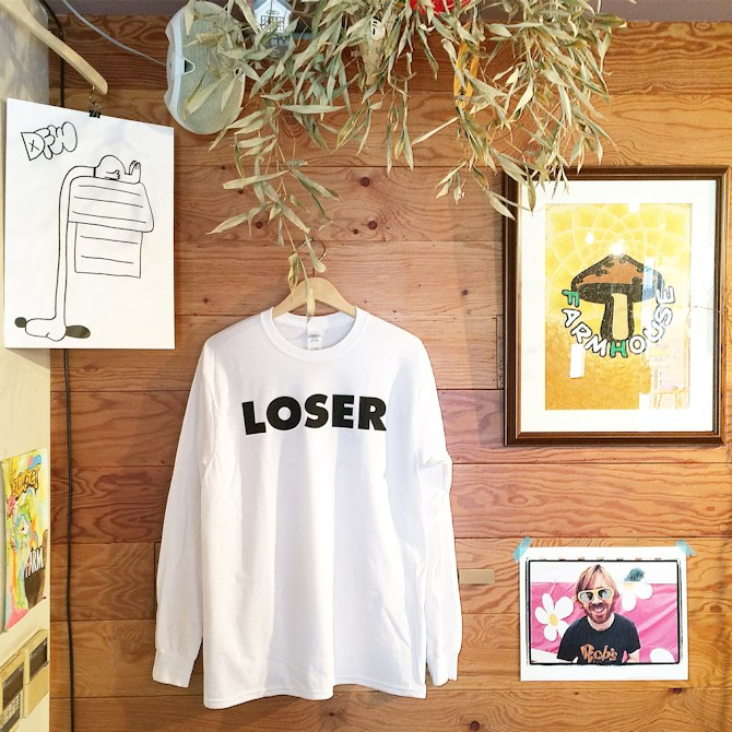 SUB POP LOSER L/S TEE 取扱店 FARMHOUSE京都