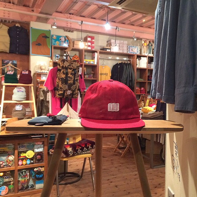 TOPO DESIGNS MINI MAP HAT 取扱店 FARMHOUSE京都