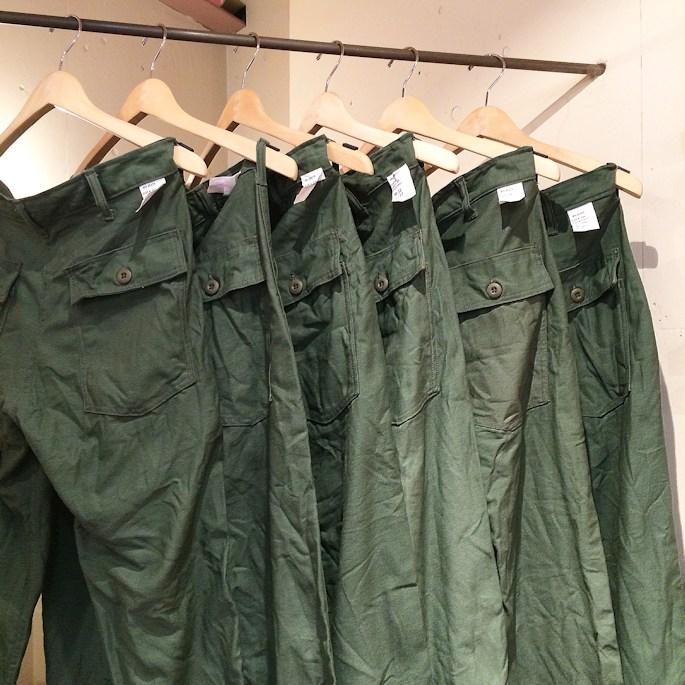 FARMHOUSE別注 EARLS APPAREL SLIM FIT FATIGUE PANTS MADE IN USA FARMHOUSE京都