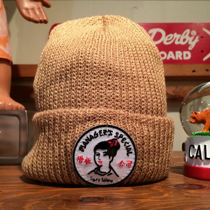 MANAGERS SPECIAL  SUZY WONG WATCH CAP 通販 FARMHOUSE京都