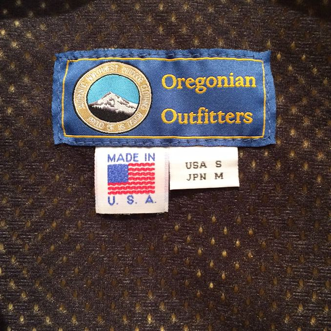 OREGONIAN OUTFITTERS TILLAMOOK FLEECE VEST FARMHOUSE京都
