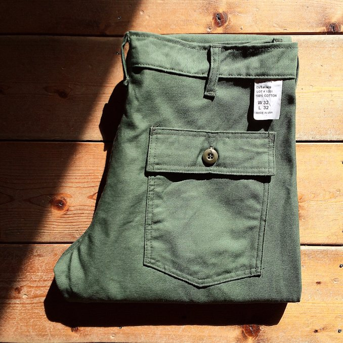 FARMHOUSE別注 EARLS APPAREL SLIM FIT FATIGUE PANTS MADE IN USA FARMHOUSE京都