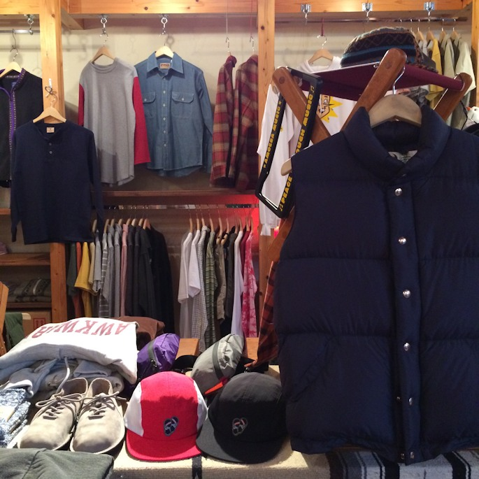 CRESCENT DOWN WORKS ITAKIAN VEST 取扱店 FARMHOUSE京都