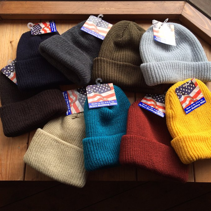 ARTEX KNITTING MILLS WATCH CAP FARMHOUSE京都