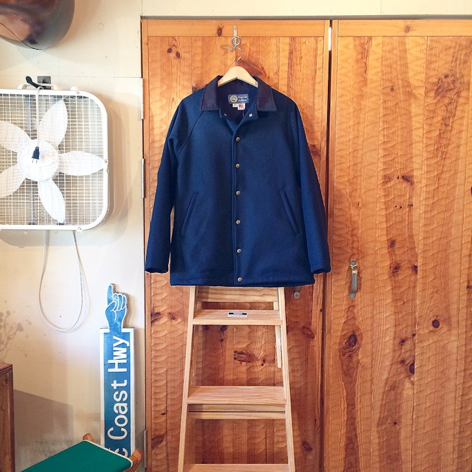 OREGONIAN OUTFITTERS PORTLANDER WOOL COAT 取扱店 FARMHOUSE京都