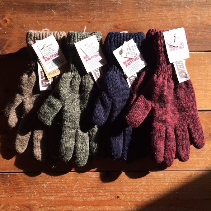 NEWBERRY KNITTING WOOL GLOVE FARMHOUSE京都