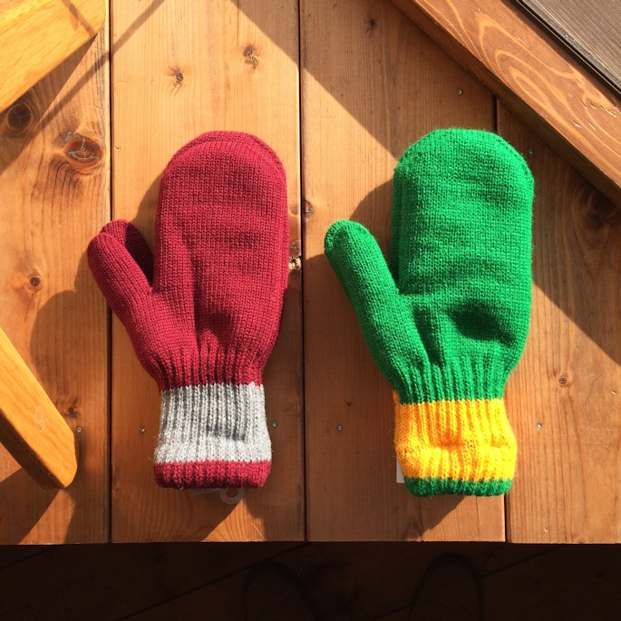 NEWBERRY KNITTING WOOL MITTEN FARMHOUSE京都