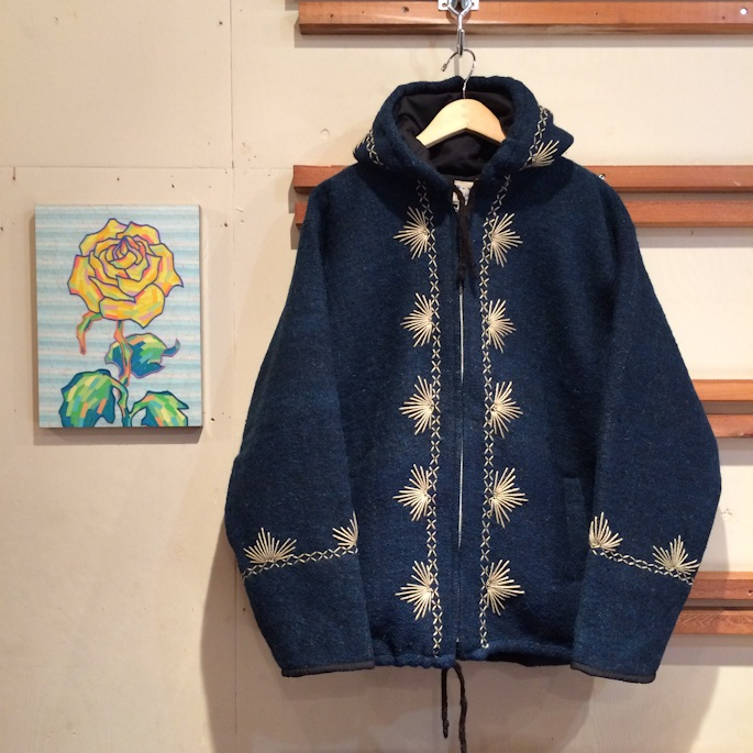 TIME WILL TELL WORKS SASHIKO JACKET FARMHOUSE京都