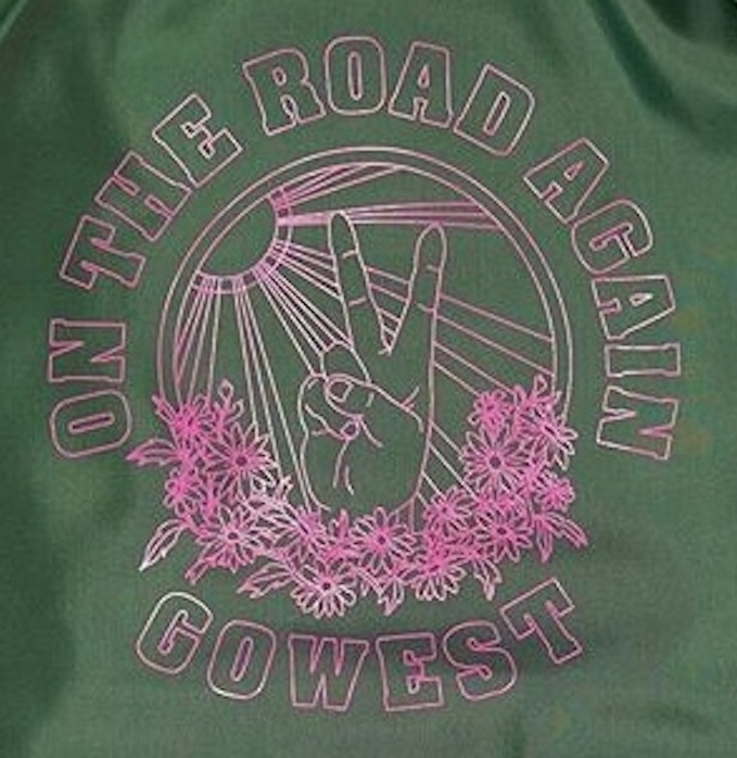 GO WEST ON THE ROAD AGAIN COACH JACKET MADE IN USA FARMHOUSE京都