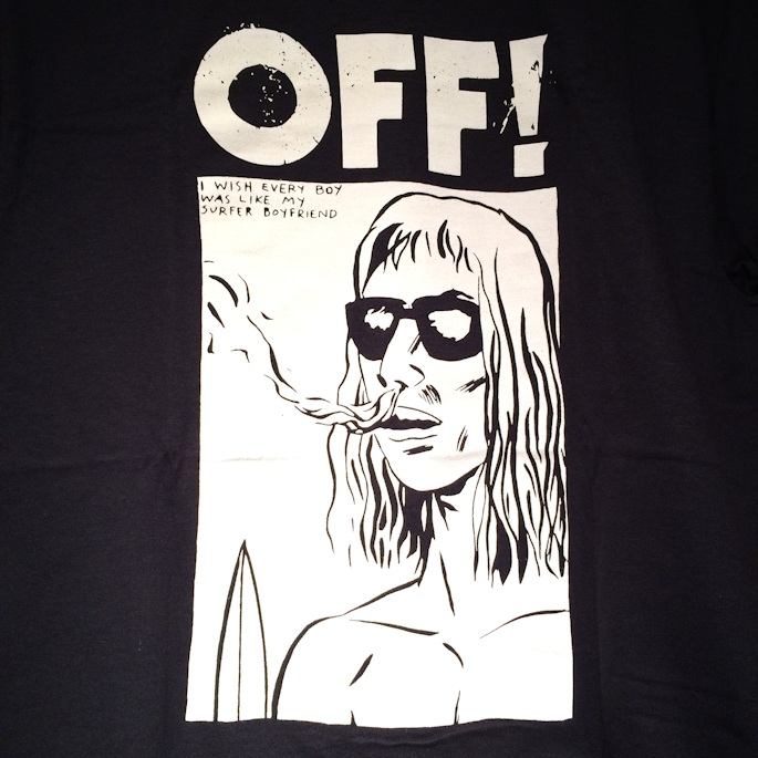 OFF! SURFER BOYFRIEND TEE FARMHOUSE京都