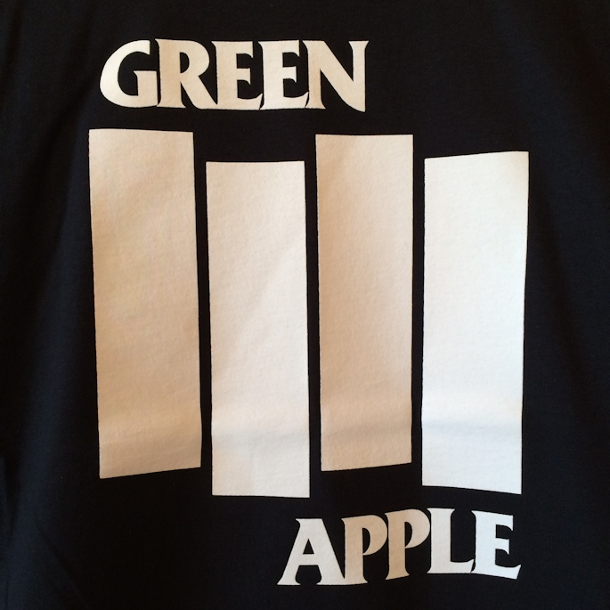GREEN APPLE BOOKS SOUVENIR TEE FARMHOUSE京都