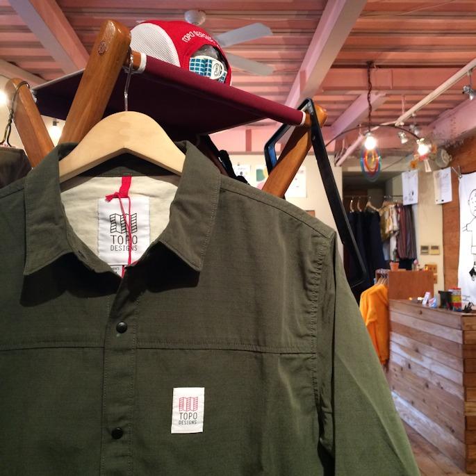 TOPO DESIGNS FIELD JACKET 取扱店 FARMHOUSE京都