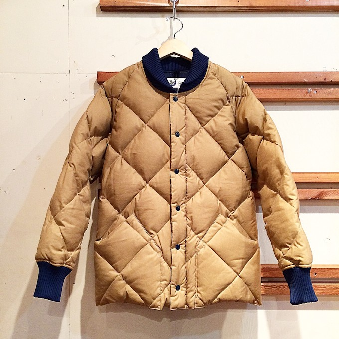 CRESCENT DOWN WORKS RIB DOWN JACKET FARMHOUSE京都