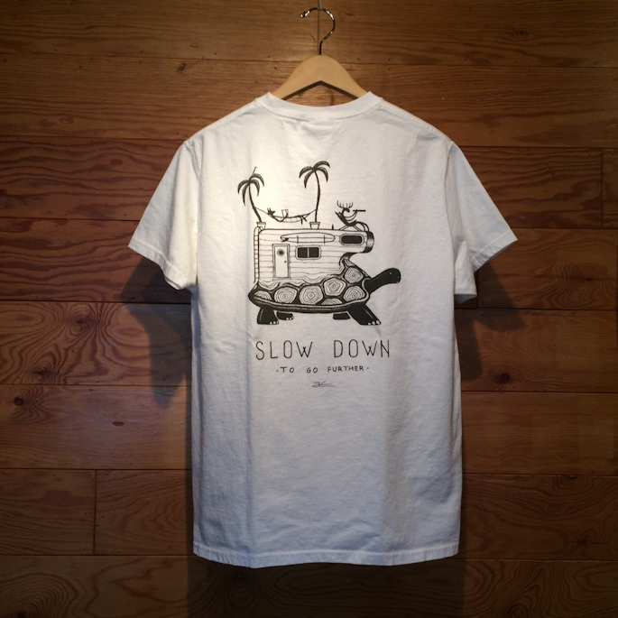 GOOD WEARxJONAS CLAESSON SLOW DOWN POCKET TEE 通販 FARMHOUSE京都