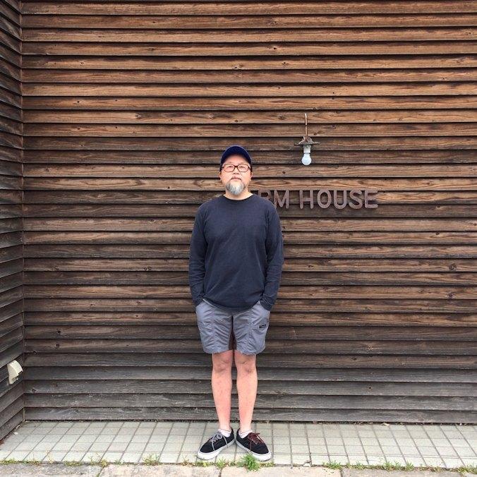MOCEAN VELOCITY SHORTS GREYxBROWN FARMHOUSE京都
