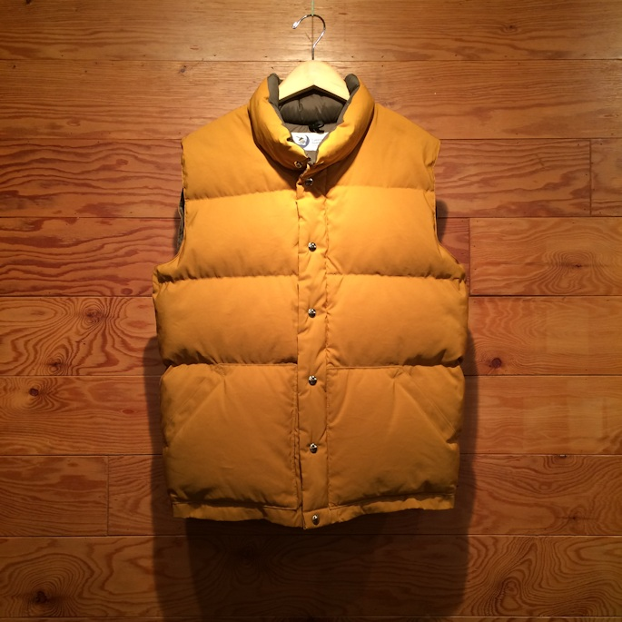 CRESCENT DOWN WORKS ITALIAN VEST FARMHOUSE京都