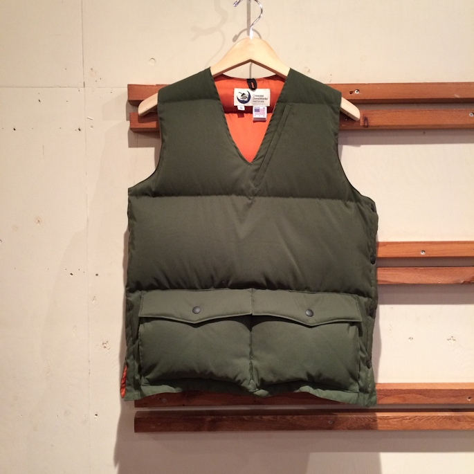 CRESCENT DOWN WORKS PULLOVER VEST FARMHOUSE京都