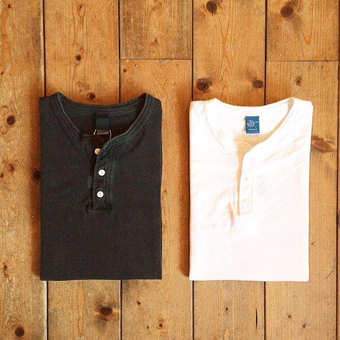 GOOD ON HENLEY NECK TEE FARMHOUSE京都