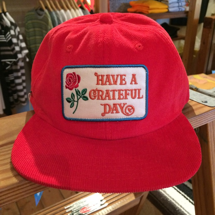 GOWEST HAVE A GRATEFUL DAY CORDUROY CAP 取扱店 FARMHOUSE京都