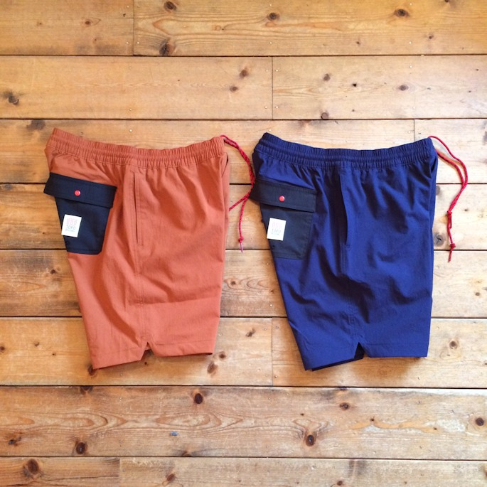 TOPO DESIGNS GLOBAL SHORTS 取扱店 FARMHOUSE京都