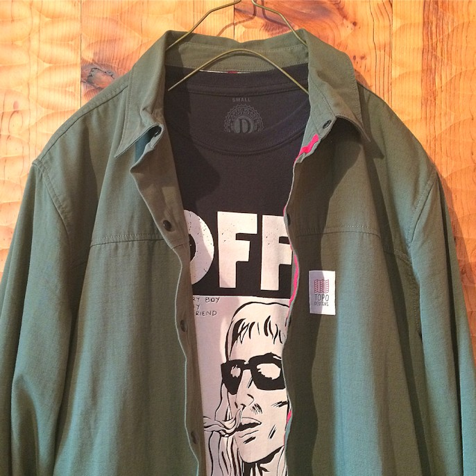 TOPO DESIGNS FIELD JACKET 取扱店 FARMHOUSE京都