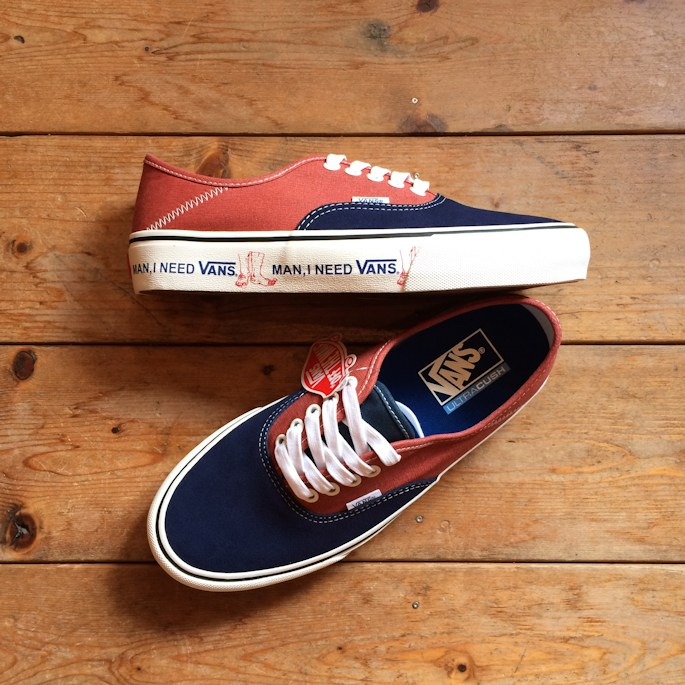 VANS AUTHENTIC SF DRESS BLUE/BURNT BRICK 通販 FARMHOUSE小西